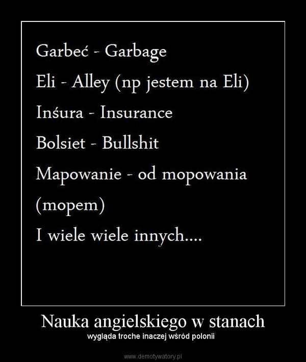 Nauka angielskiego w stanach – wygląda troche inaczej wśród polonii