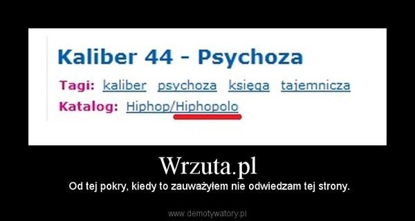 Wrzuta.pl – Od tej pokry, kiedy to zauważyłem nie odwiedzam tej strony.