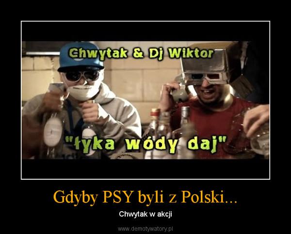 Gdyby PSY byli z Polski... – Chwytak w akcji