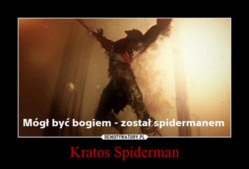 Kratos Spiderman