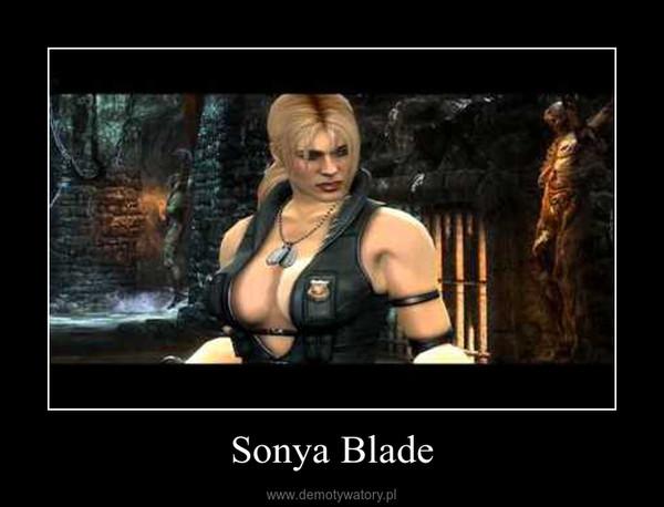 Sonya Blade –
