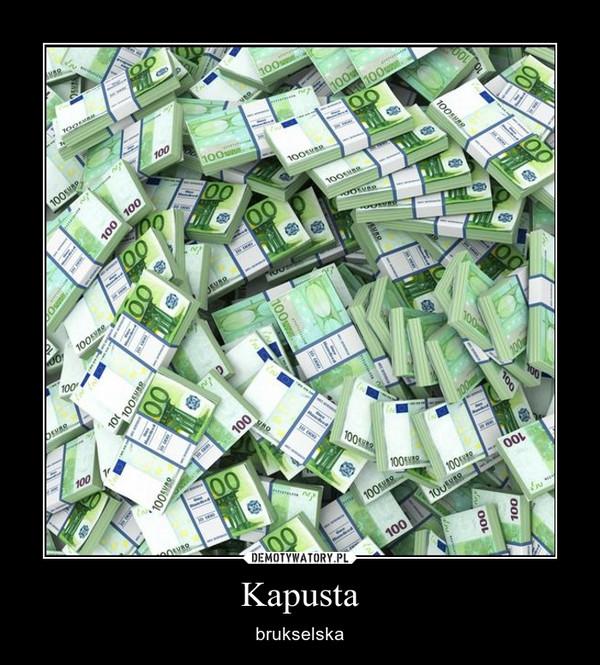 Kapusta – brukselska