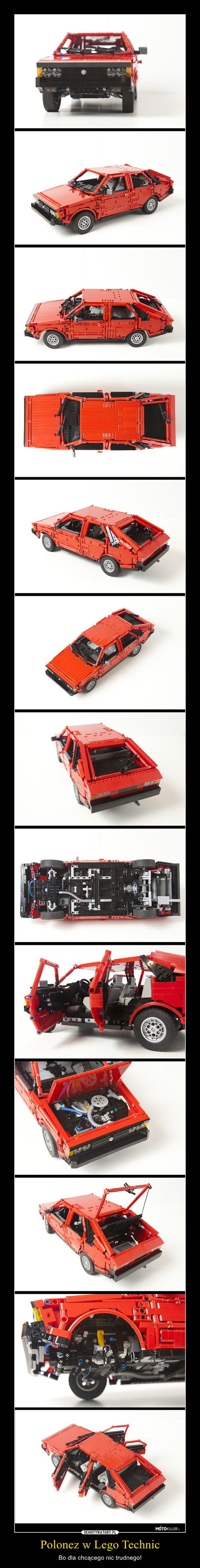 Polonez w Lego Technic