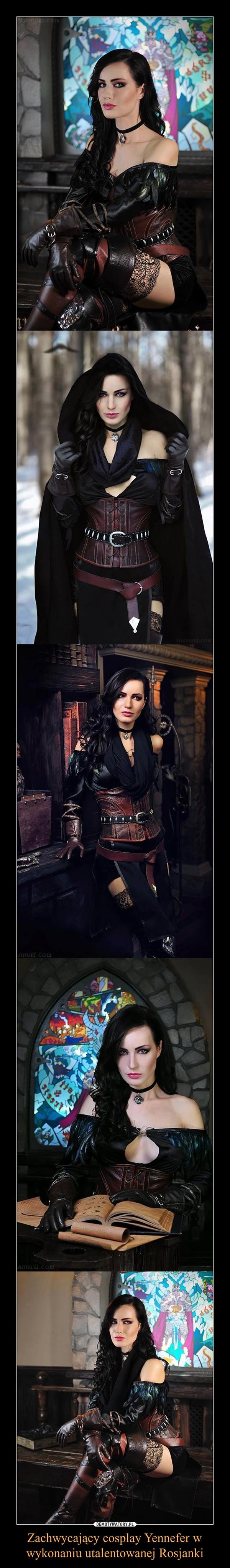 Zachwycający cosplay Yennefer w wykonaniu utalentowanej Rosjanki –