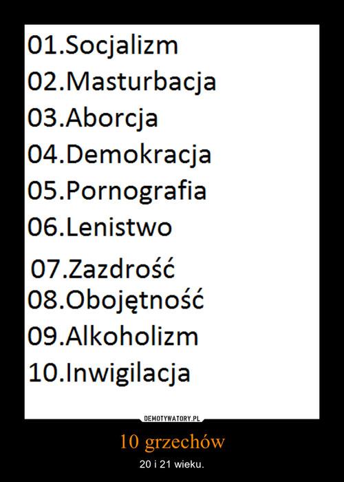10 grzechów