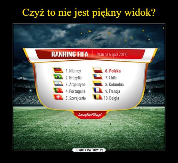 –  ranking fifa lipiec 2017