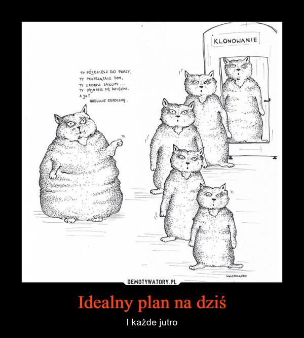 Idealny plan na dziś – I każde jutro