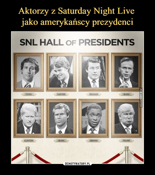 –  SNL HALL OF PRESIDENTS