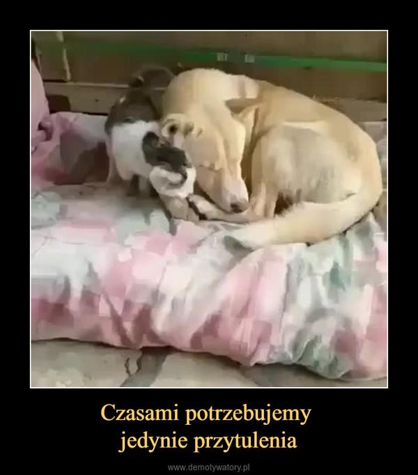 Czasami potrzebujemy jedynie przytulenia –