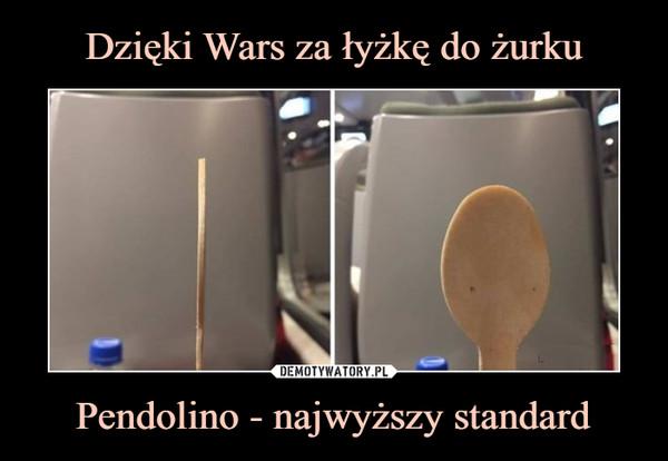 Pendolino - najwyższy standard –