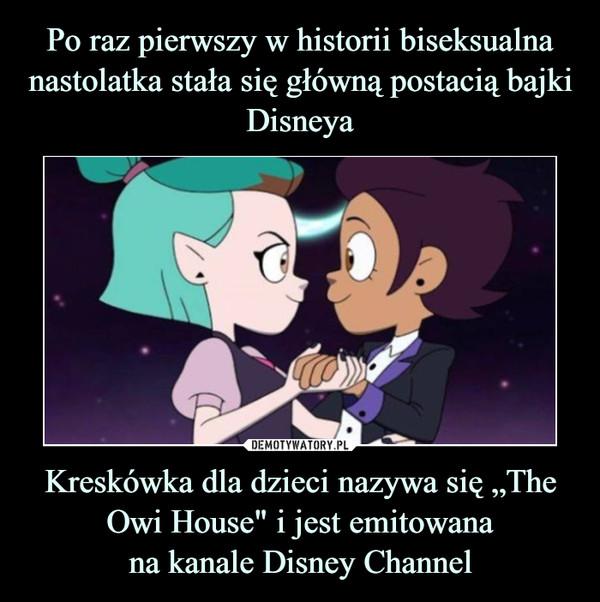 """Kreskówka dla dzieci nazywa się """"The Owi House"""" i jest emitowanana kanale Disney Channel –"""