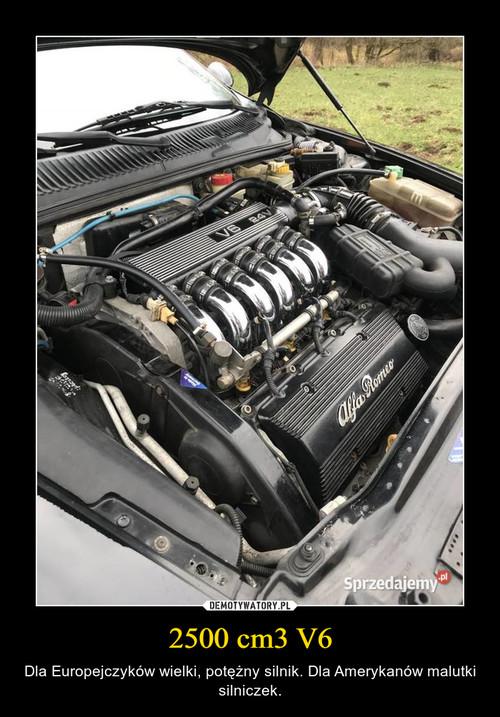 2500 cm3 V6
