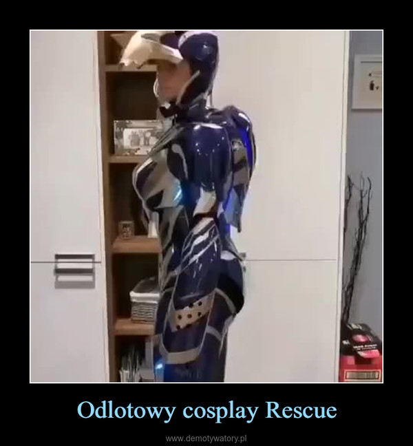 Odlotowy cosplay Rescue –