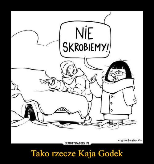 Tako rzecze Kaja Godek