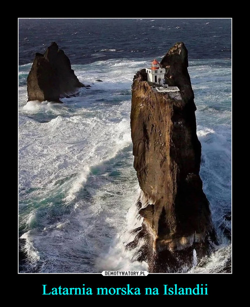 Latarnia morska na Islandii