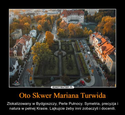 Oto Skwer Mariana Turwida