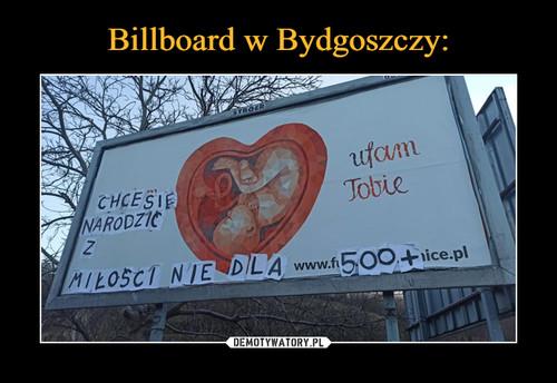Billboard w Bydgoszczy: