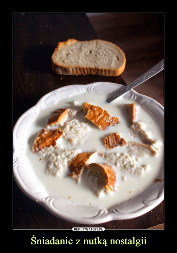 Śniadanie z nutką nostalgii –
