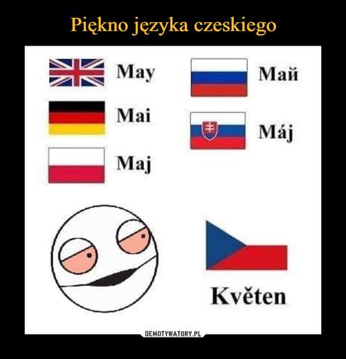 Piękno języka czeskiego