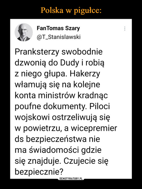 Polska w pigułce: