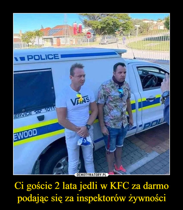 Ci goście 2 lata jedli w KFC za darmo podając się za inspektorów żywności –