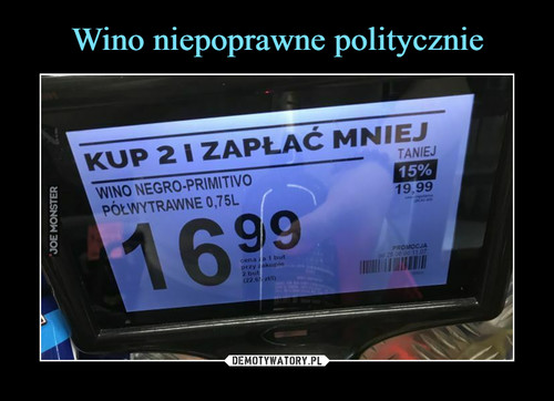 Wino niepoprawne politycznie